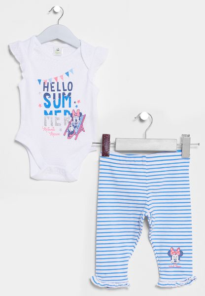Infant Printed T-Shirt+Legging