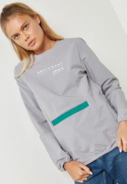 EQT Zip Detail Sweater