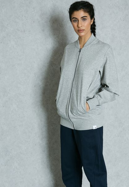 Shop adidas Originals grey XBYO Track Jacket BK2305 for Women in Saudi -  AD478AT02BQR