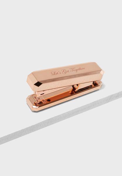 Rose Gold Diamond Stapler