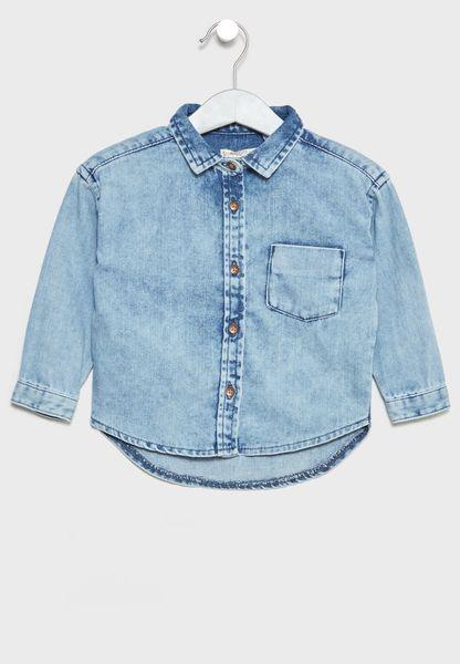 Infant Denim Shirt