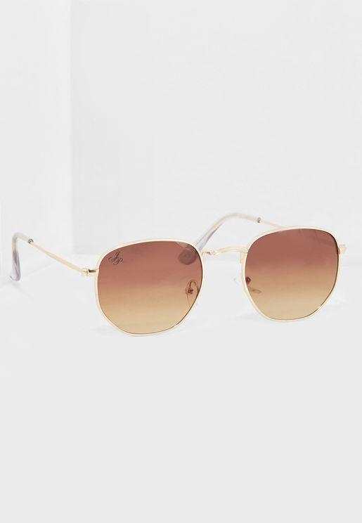 Square Gradient Lens Sunglasses