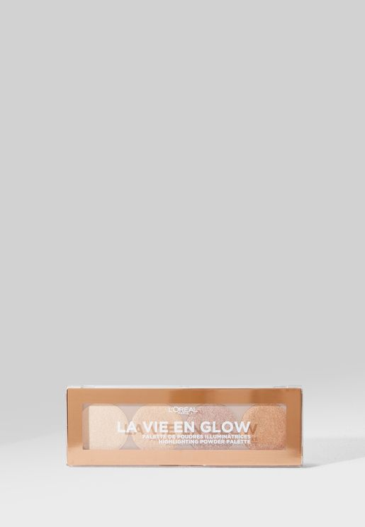 Wake Up & Glow Highlighting Palette - 01 Warm Glow