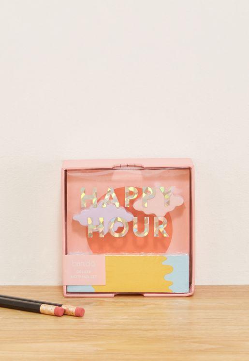 Happy Hour Sticky Note Set