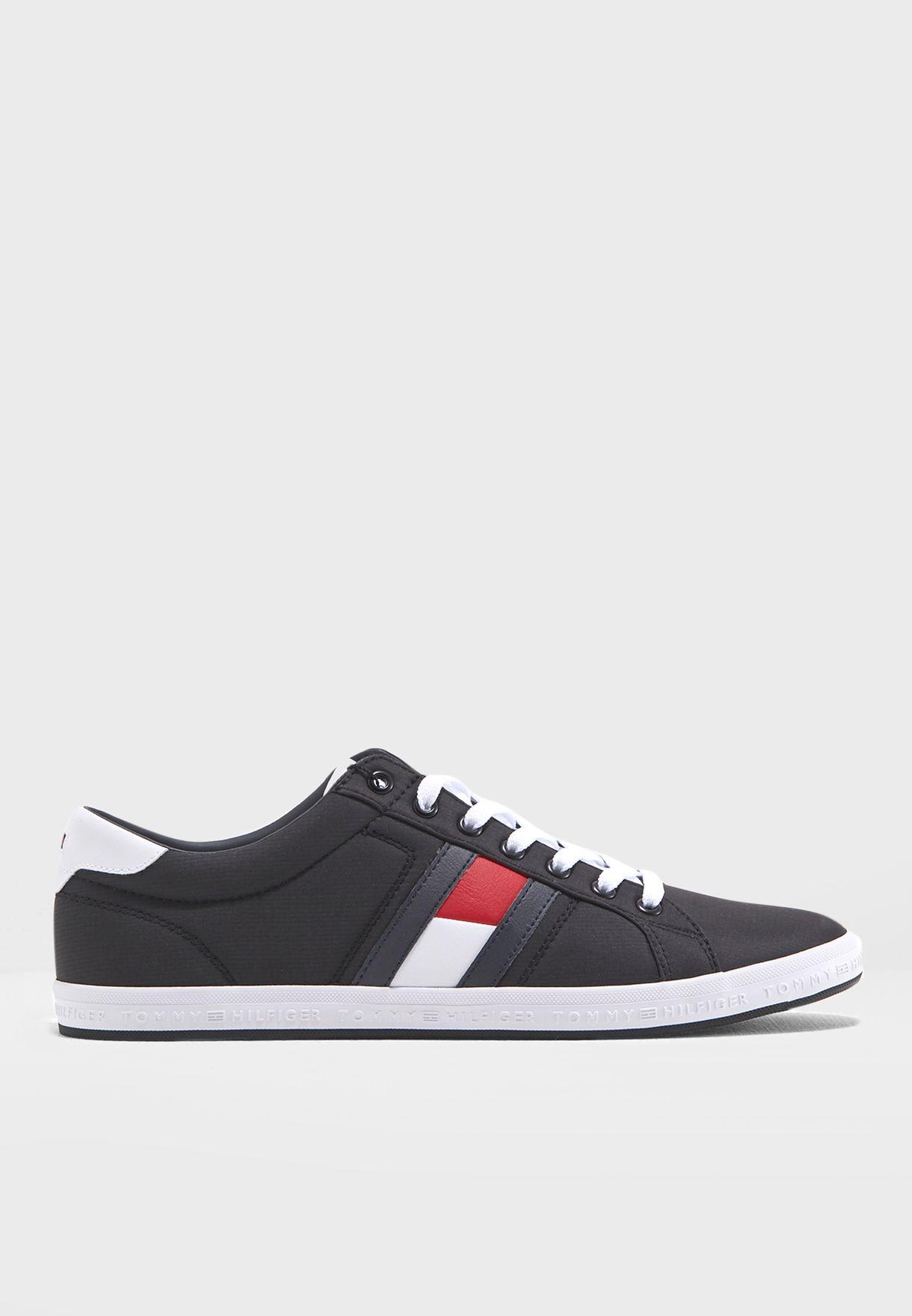 Essential Flag Detail Sneakers