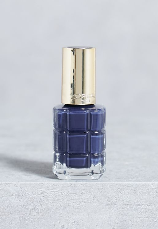 Color Riche Huile Nail Polish 668 Bleu Royal