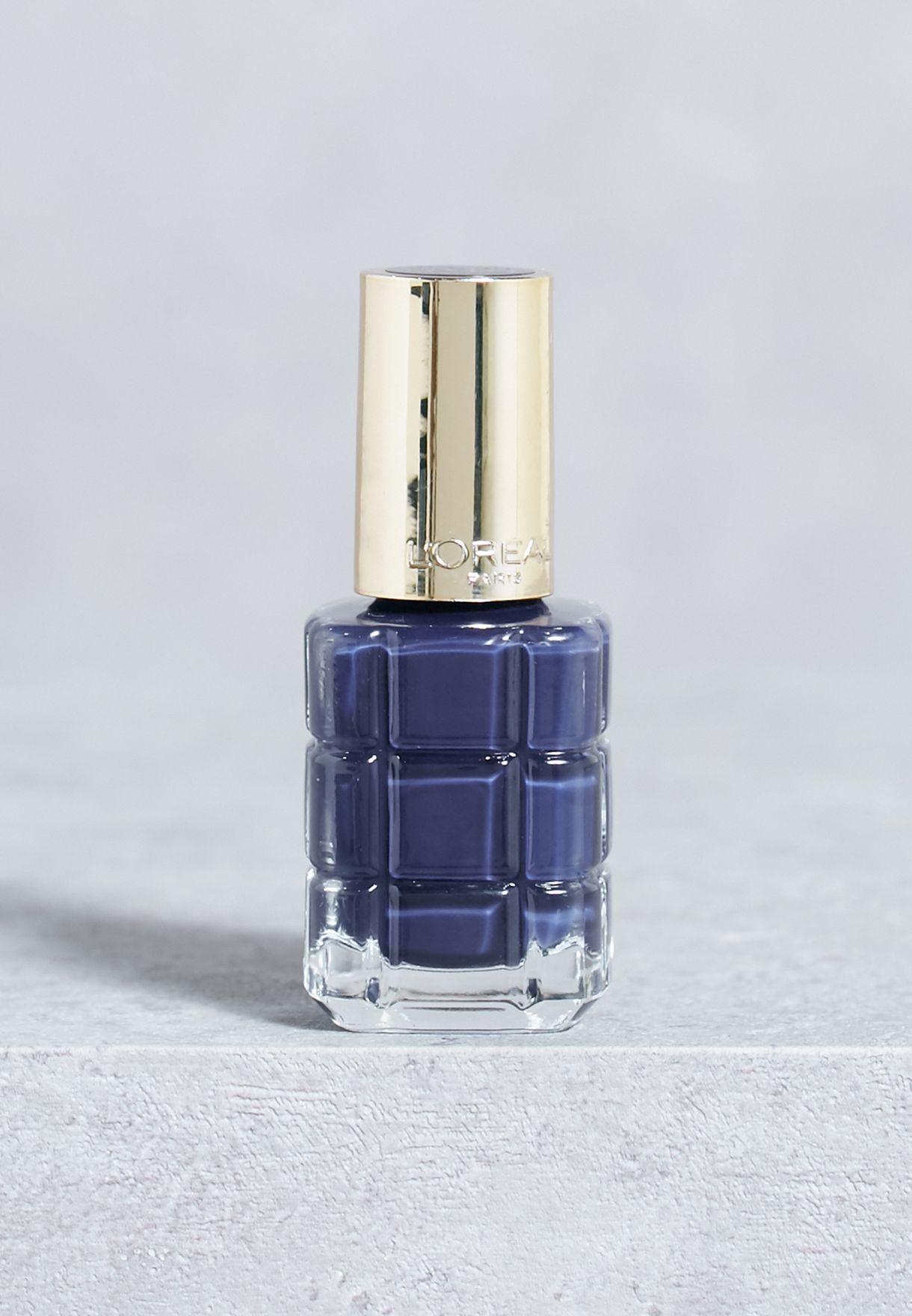 Color Riche Huile Nail Polish 668 Bleu Royal