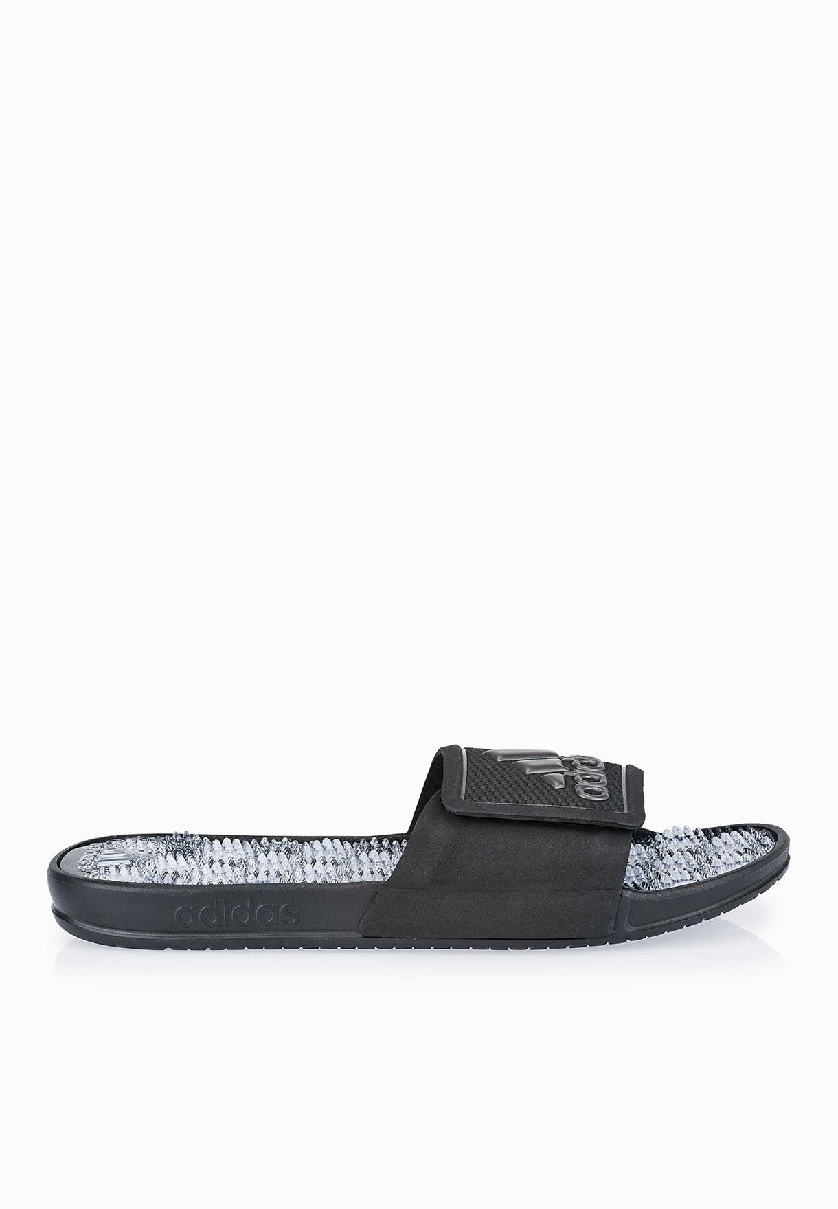 d8ca7c2c8227ce Shop adidas black Adissage 2.0 S78500 for Men in Oman - AD476SH02OJP
