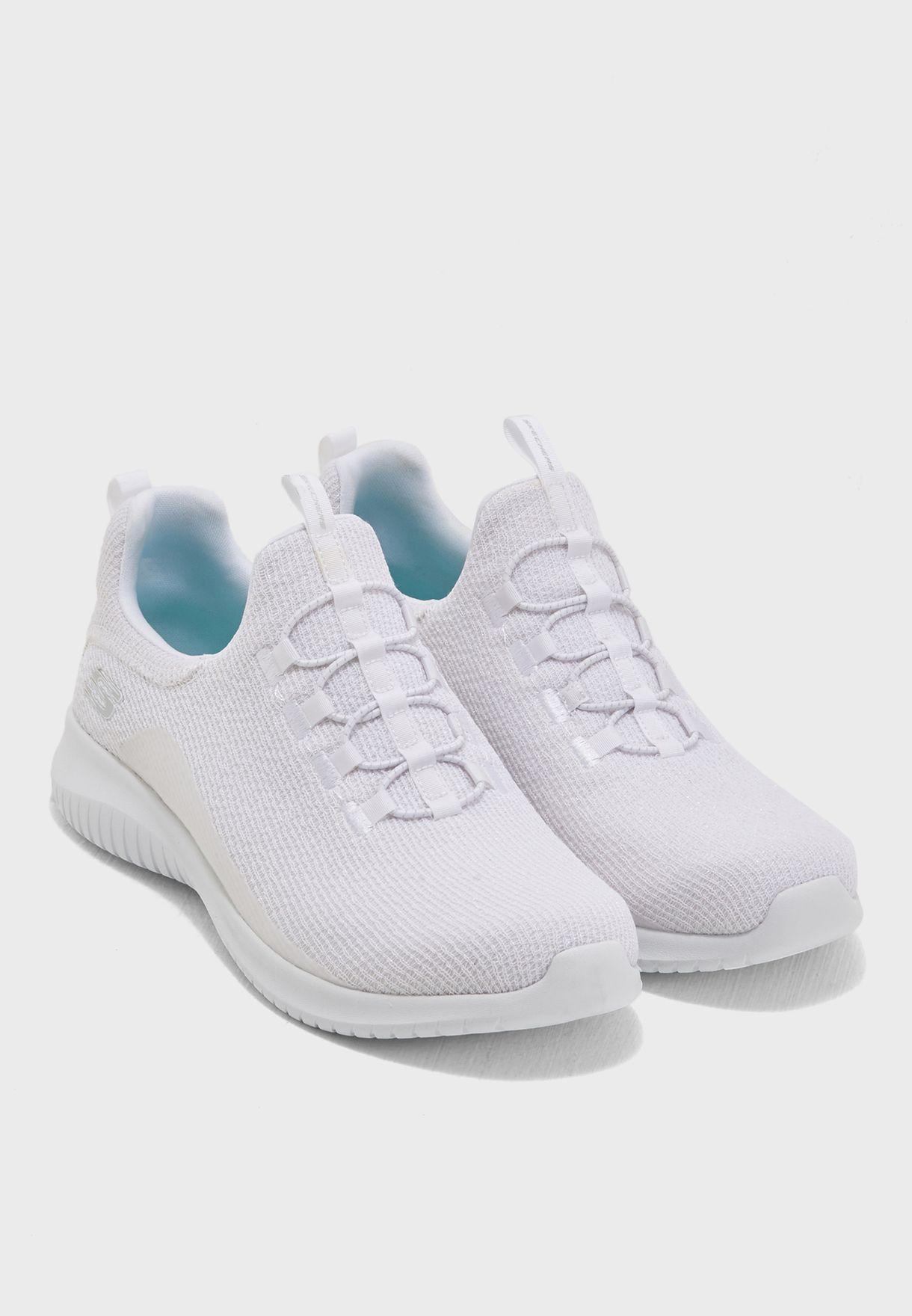 Buy Skechers white Ultra Flex for Women