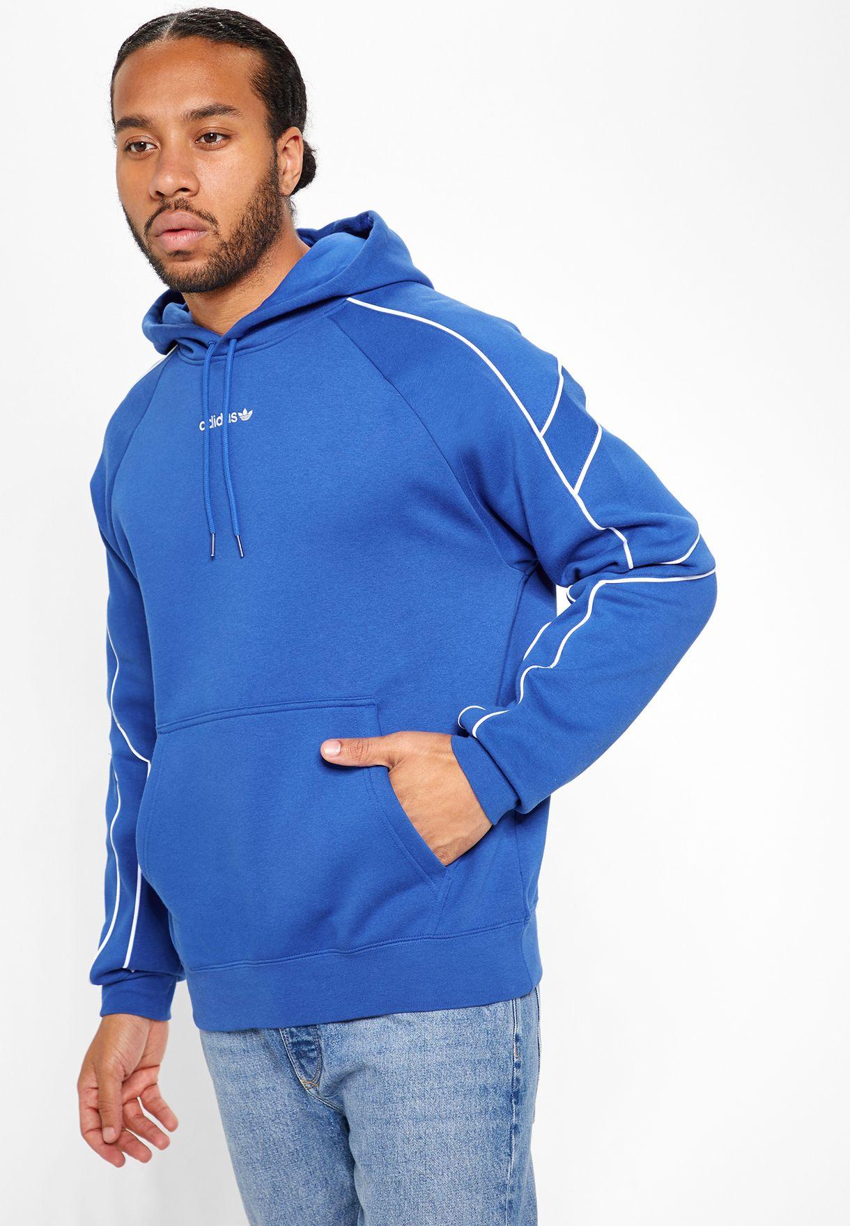 Buy adidas Originals blue EQT Outline