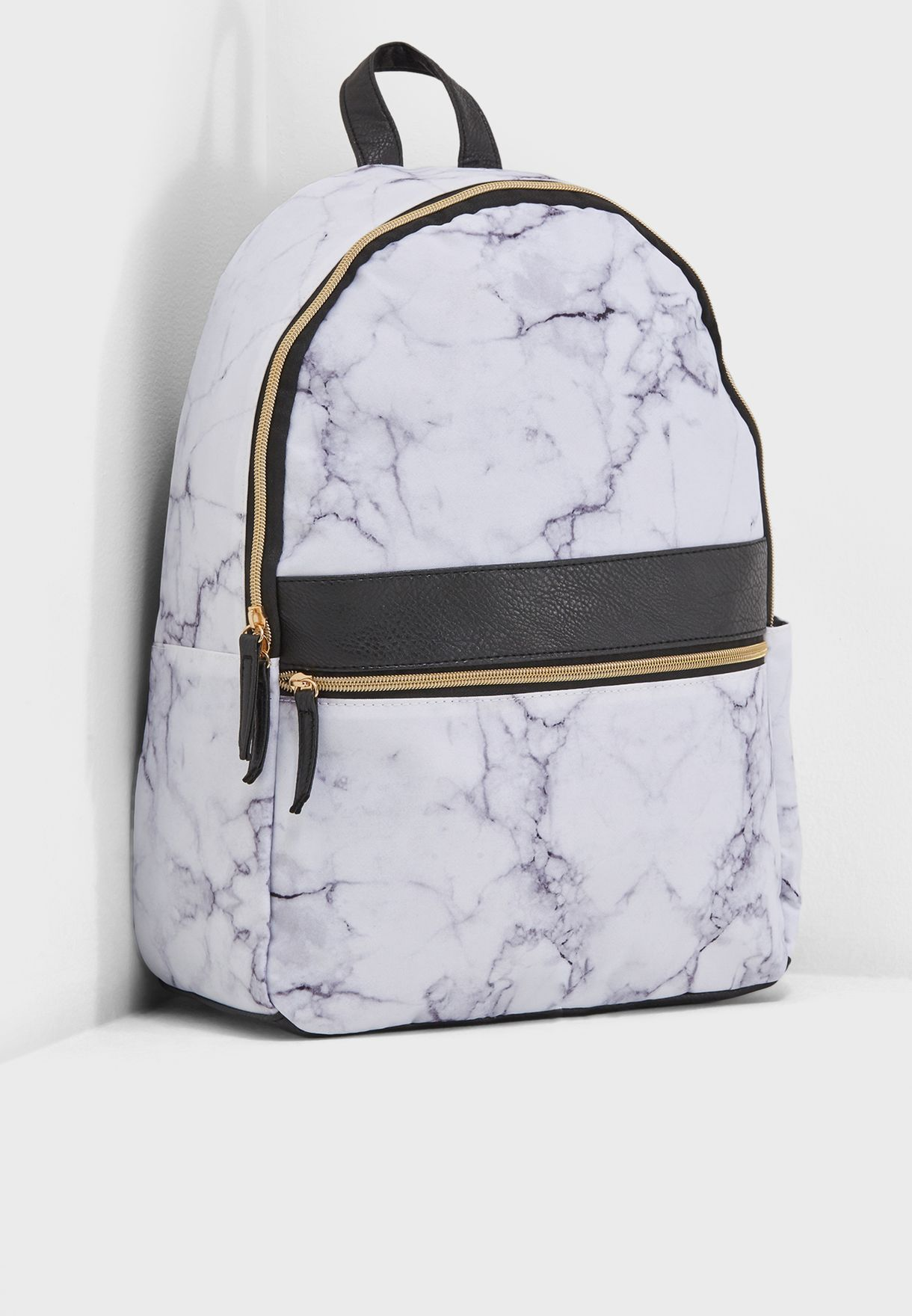 b9cbe16427e Shop Typo white Marble Backpack 142137 for Women in UAE - TY491AC02LBP