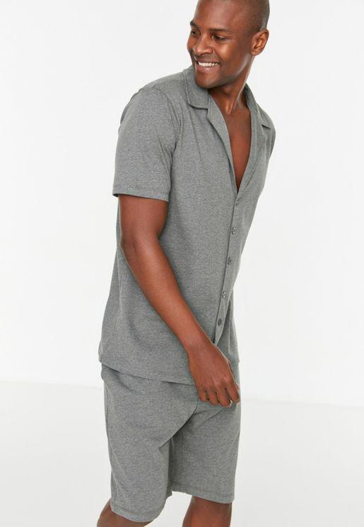 Knitted Pajamas Set
