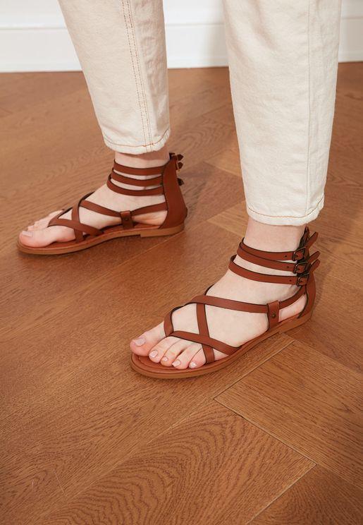 Taba Flat Sandals