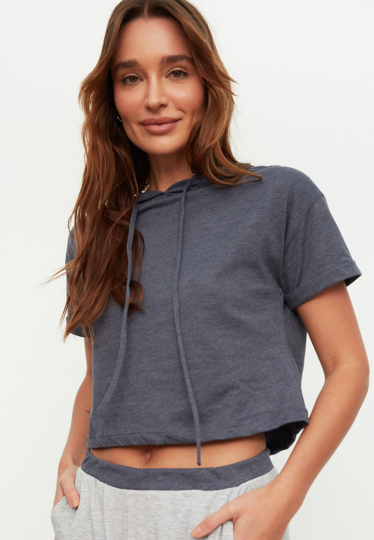 Hooded T-Shirt & Pyjama Set