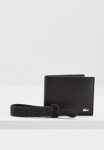 Large Leather Wallet + Keyring