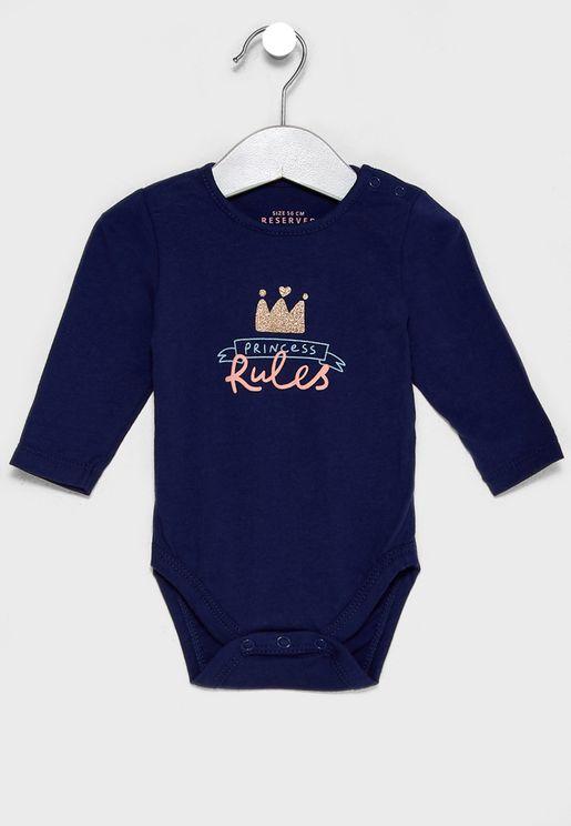 Infant Princess Bodysuit