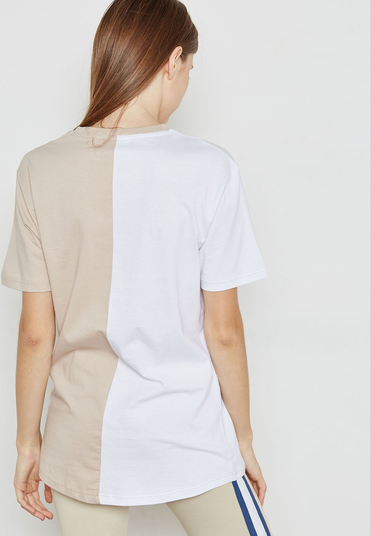 Colorblock Logo T-Shirt