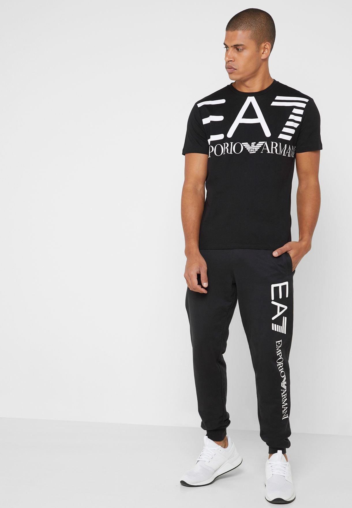 Oversized  Logo  Crew Neck T-Shirt