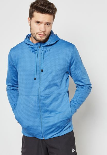 Workout Zip Through Hoodie