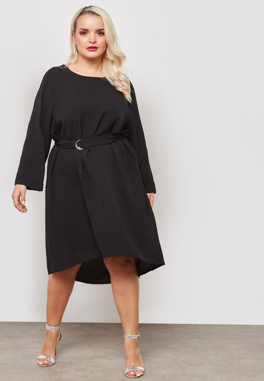 Belted Tunic Dress