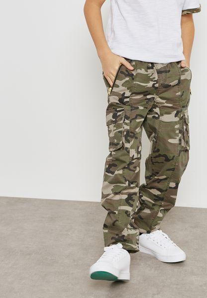 Teen Side Stripe Sweatpants