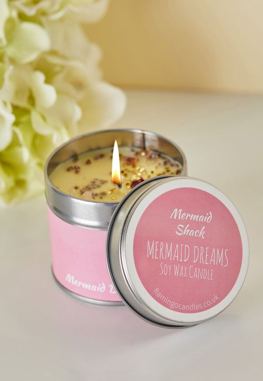 Mermaid Dreams Pieces Tin Candle