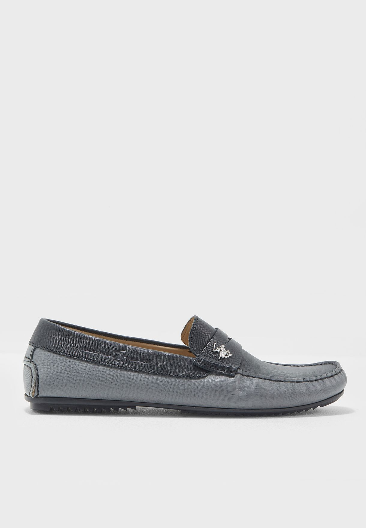798d54e6b6c Shop Beverly Hills Polo Club multicolor Leather Loafers BP SH9130 ...