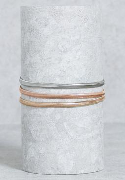 3 Pack Herringbone Chain Necklace
