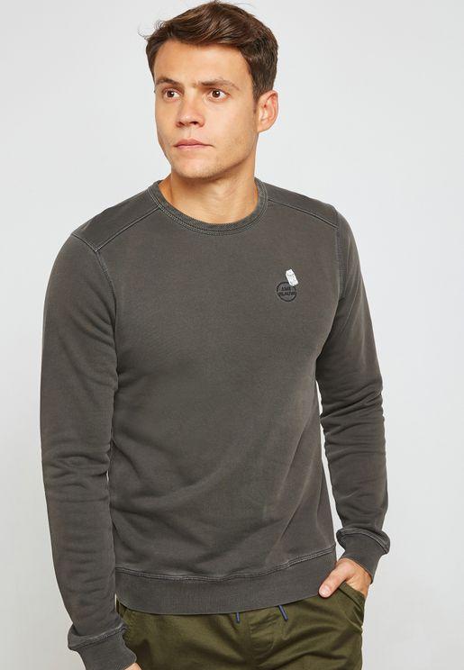 Ams Blauw DyeSweatshirt