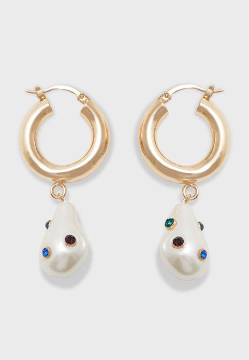 Pompidou Drop Earrings