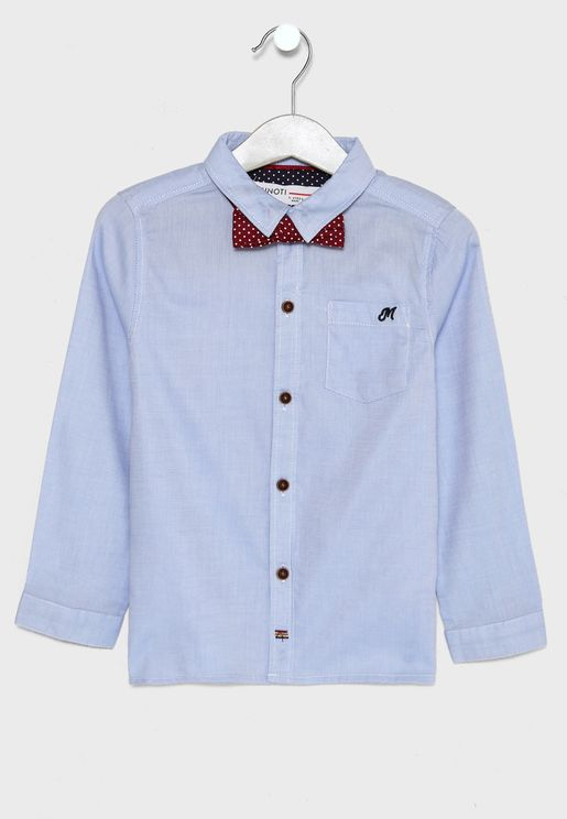 Little Bow Detail Shirt