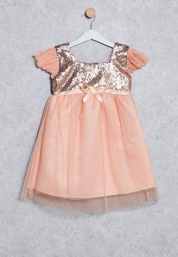 Kids Sequin Dress