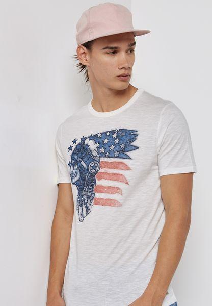 Fu Clark Printed T-Shirt