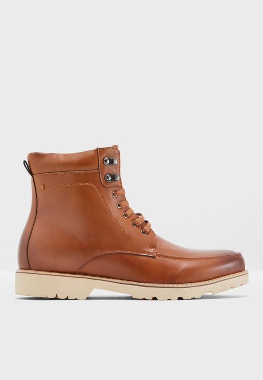 Casual Worker Boots