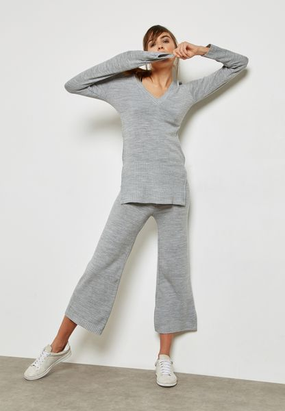 Knitted Pants Set