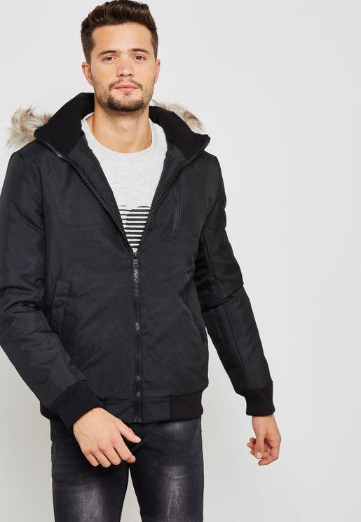 Stanny Fur Collar  Jacket