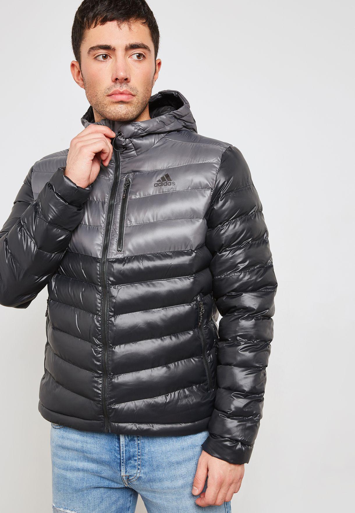 9f88bbdba8ed Shop adidas black Cytins Padded Jacket BQ2034 for Men in Saudi ...