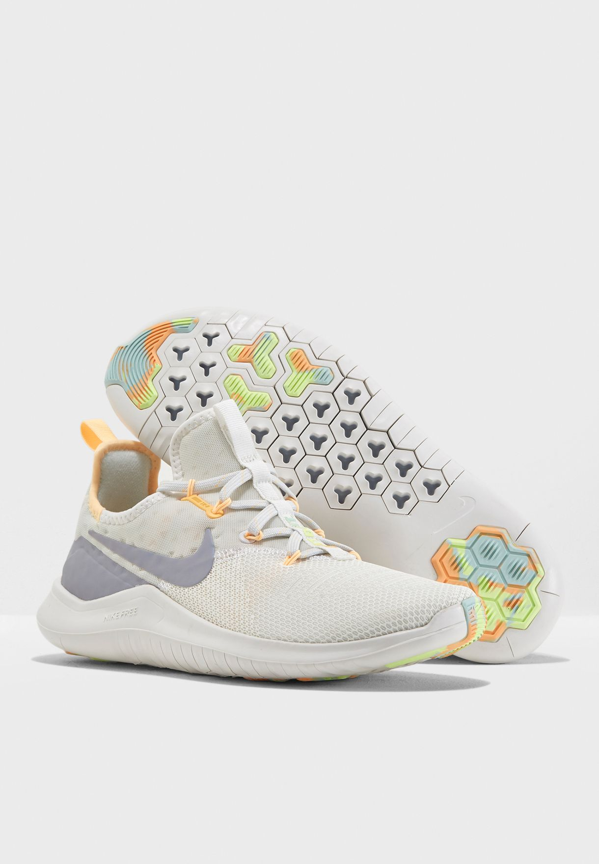 09d5a3421b71 Shop Nike white Free TR 8 Rise AH8183-100 for Women in Oman ...