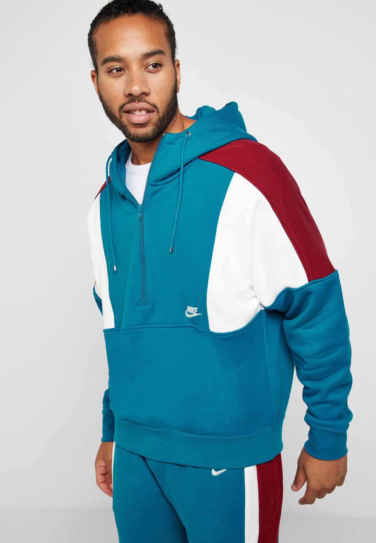 Predownload: Buy Nike Blue Reissue Fleece Sweatshirt For Men In Mena Worldwide Aq2065 301 [ 1760 x 1220 Pixel ]