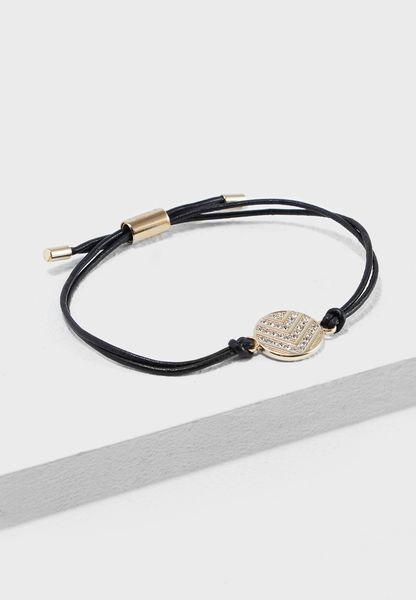 Chevron Glitz Bracelet