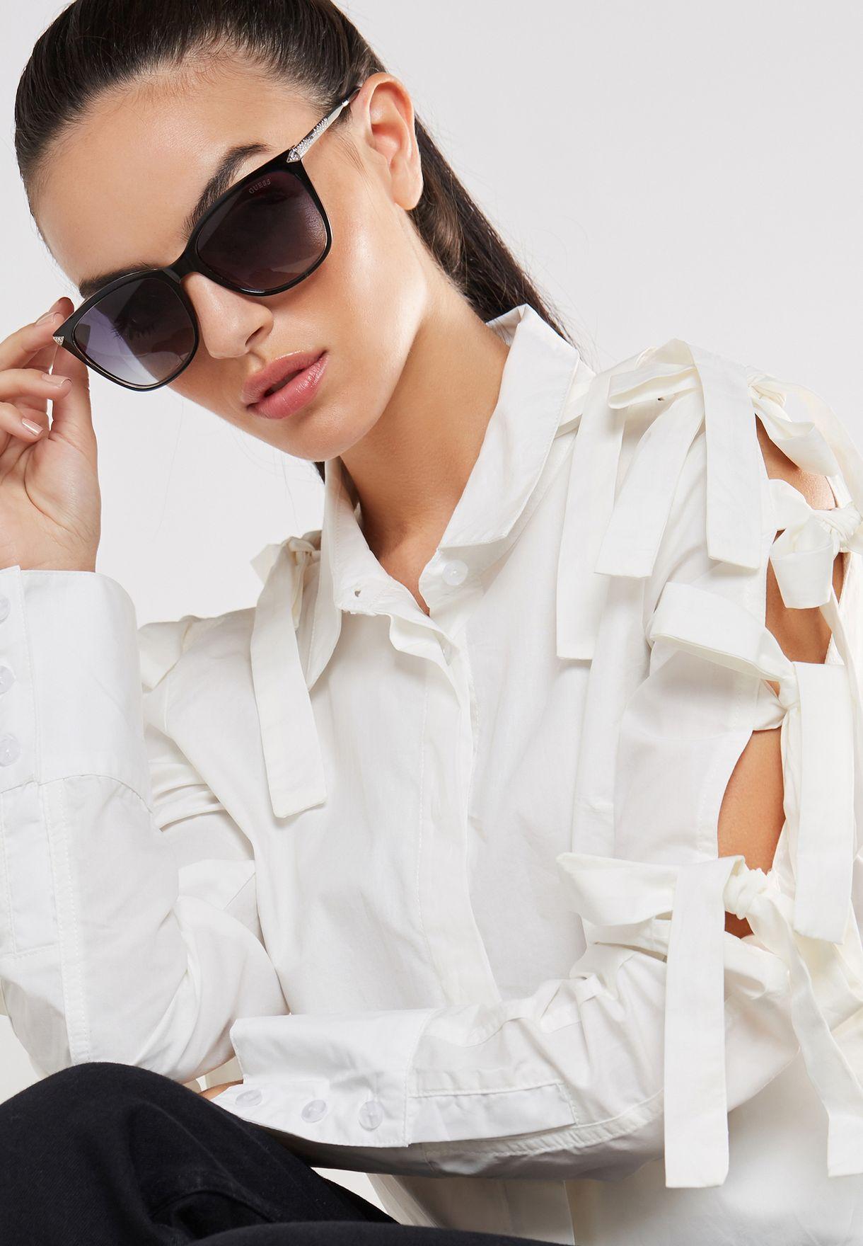4e58b3f70 تسوق نظارة شمسية انيقة ماركة جيس لون أسود GU7483-S05B56 في عمان ...