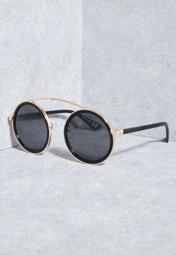 Metal Bar Sunglasses