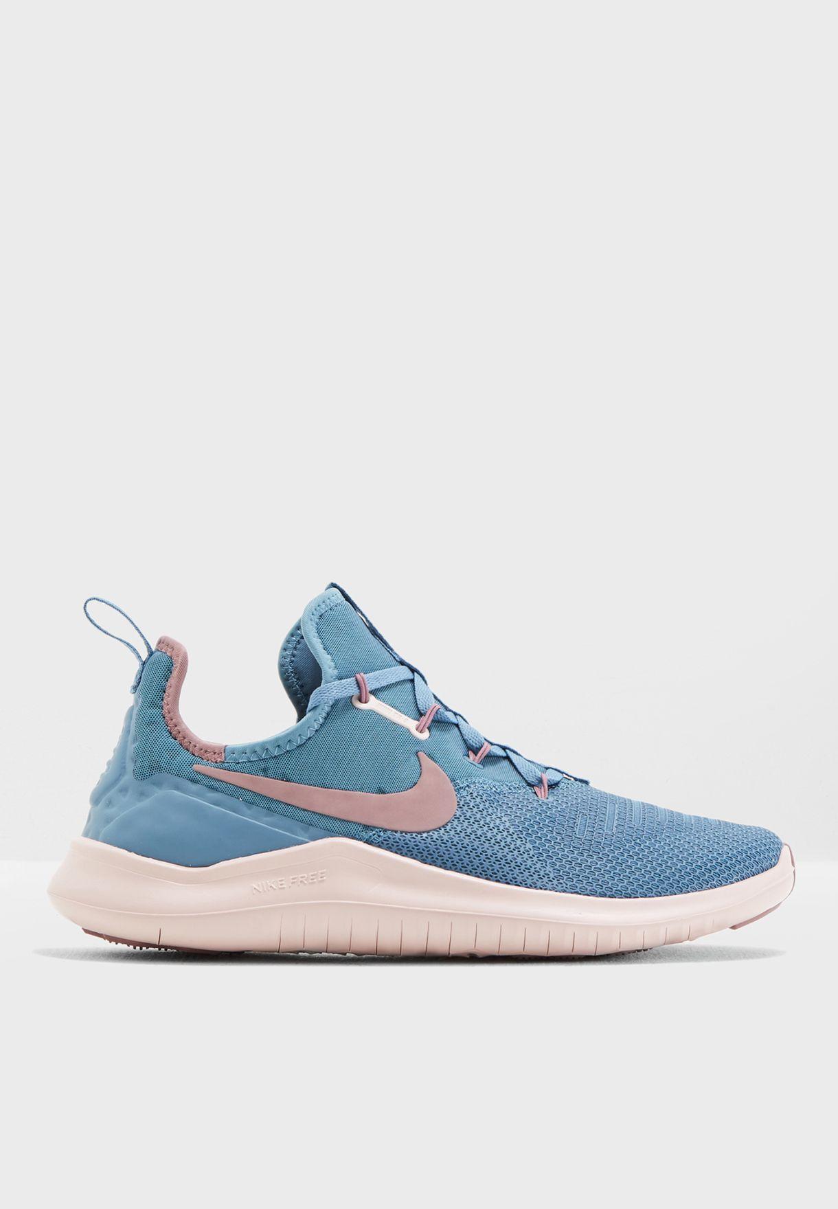 3258d9727f90d Shop Nike blue Free TR 8 942888-452 for Women in UAE - NI727SH91FLS