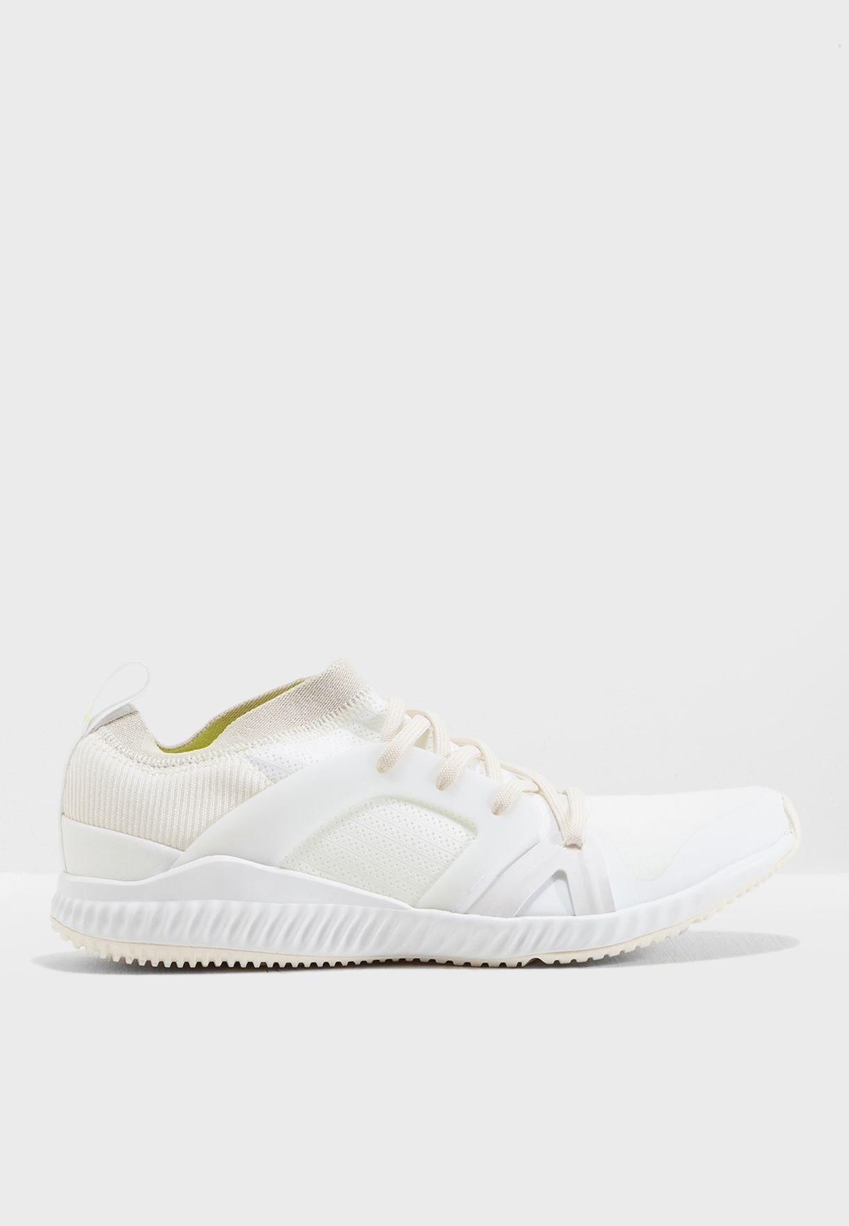 Shop adidas by Stella McCartney Blanc Crazytrain Pro AC7557 for