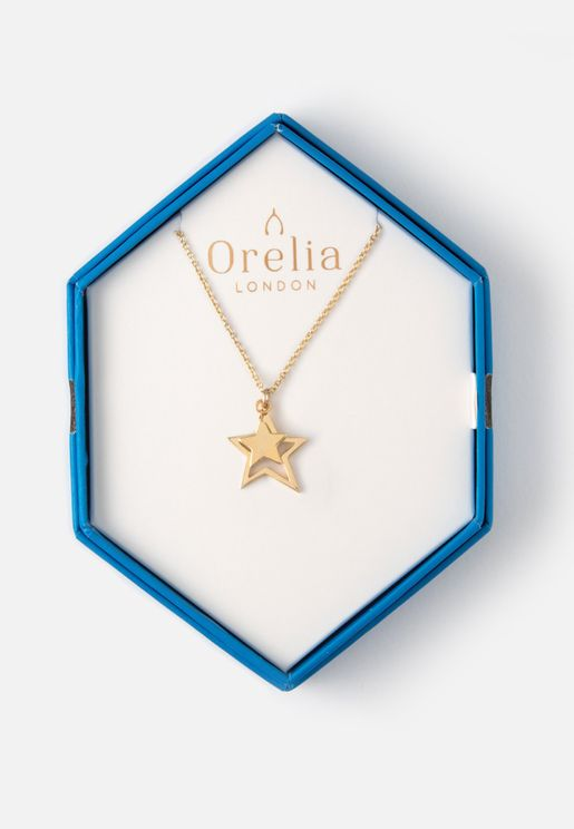 Double Star Necklace Giftbox