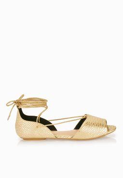 Abowen Lace up Sandals