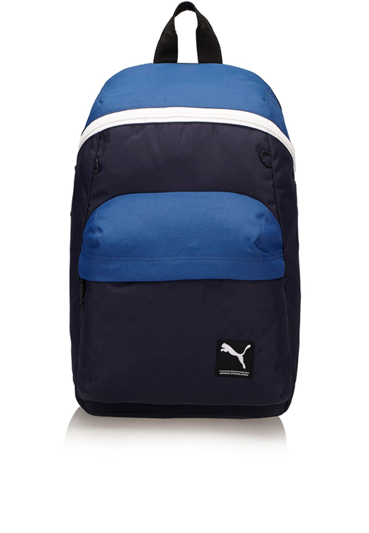 8d708e106e5 Shop PUMA navy Foundation Backpack 7257102 for Men in UAE - PU020AC91WQQ