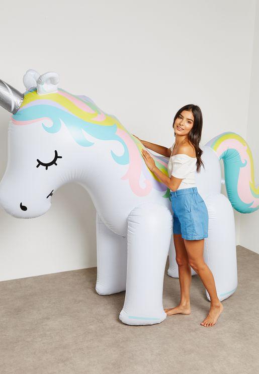 Giant Inflateable Unicorn Yard Sprinkler 6ft
