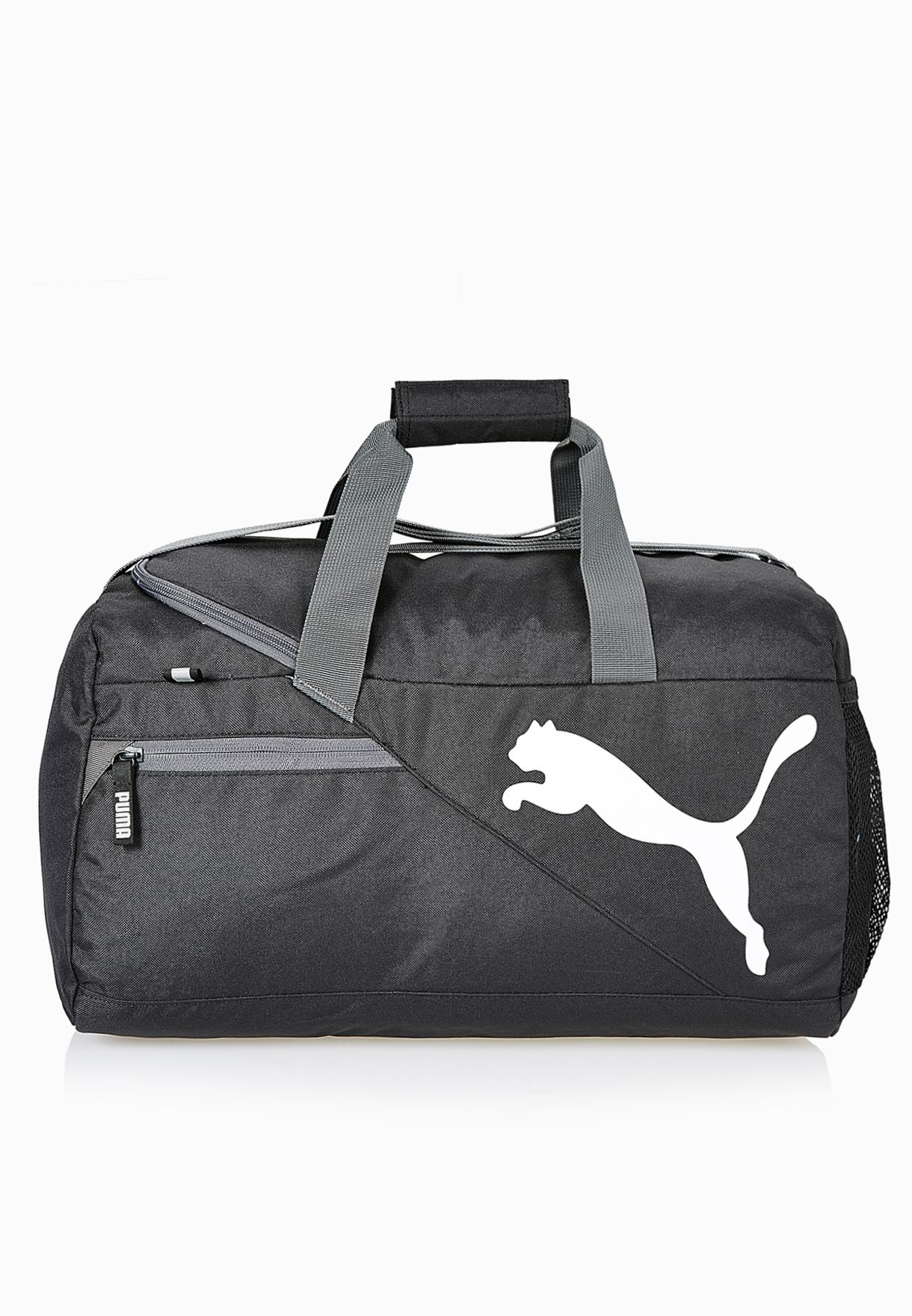 ef262cefb47b Shop PUMA black Fundamentals Sports Small Duffel Bag 7349901 for Men in  Qatar - PU020AC91ADW