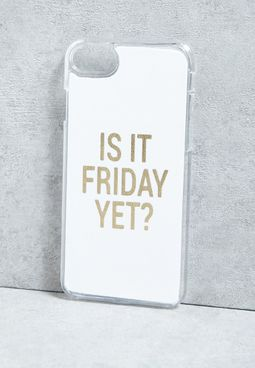 iPhone 7 Is It Friday Yet!  Cover